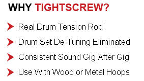 drum tension rods